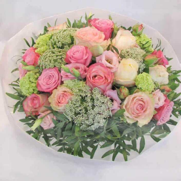 Rosa Sommerblumen