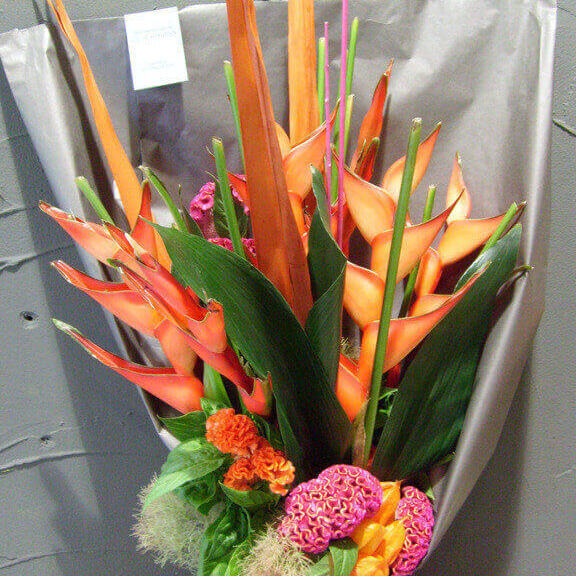 Blumenstrtauß Exotik
