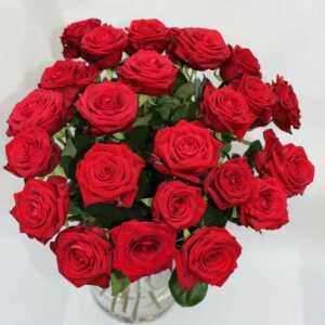 Rote Rosen in Düsseldorf verschicken