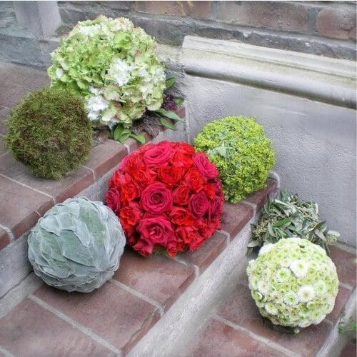 Blumen - Kugeln - Event - Dekoration