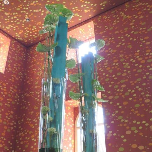 Blumendekoration - Event im K21