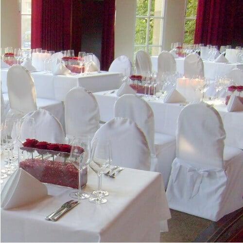 Event - Dekoration mit roten Rosen