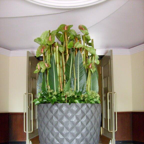 Große Vase für ein Event in Düsseldorf