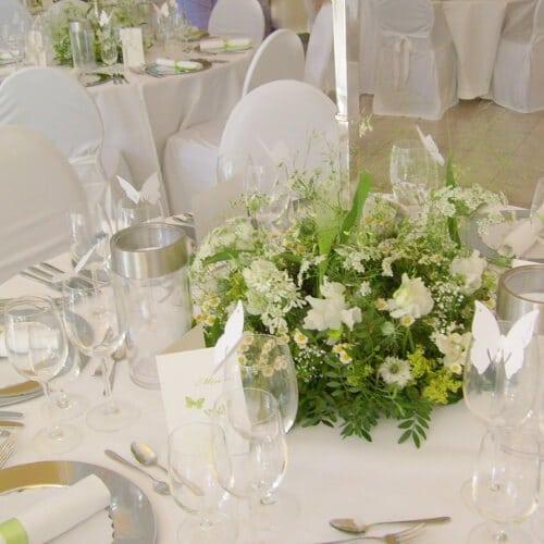 Tischdekoration Hochzeit in Düsseldorf