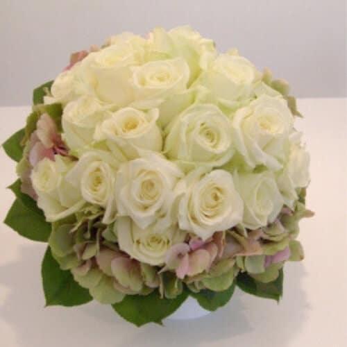 Hochzeitsfloristik - Brautstrauß mit Rosen