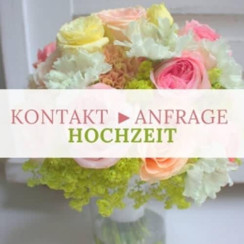 Kontakt - Anfrage - Blumen - Hochzeit in Düsseldorf