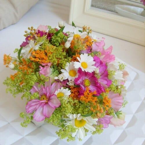 Sommer - Blumen - Brautstrauß