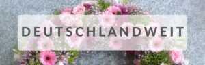 Trauerkranz mit Schleife online - 24blooms