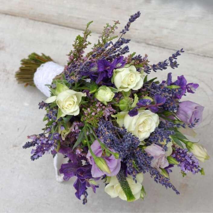Brautstrauß Düsseldorf - Lavendel